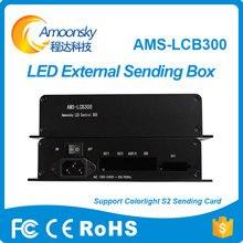 Colorlight AMS-LCB300 s2 enviar caixa de cartão para aluguer levou ao ar livre tela LED externa preço de fábrica