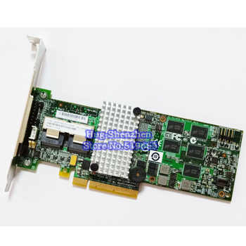 High Qiuality M5015 M5014 46M0851 46M0918 SAS PCI-E 2.0 X8 6Gb/s Card RAID 5 support 6T HDD 512RAM 256RAM - Category 🛒 Computer & Office