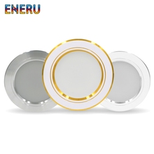 Led Downlights 220v Ceiling Light 5W 9W 12W Recessed Down light Round Panel 15W 18W LED Spot Indoor Lighting