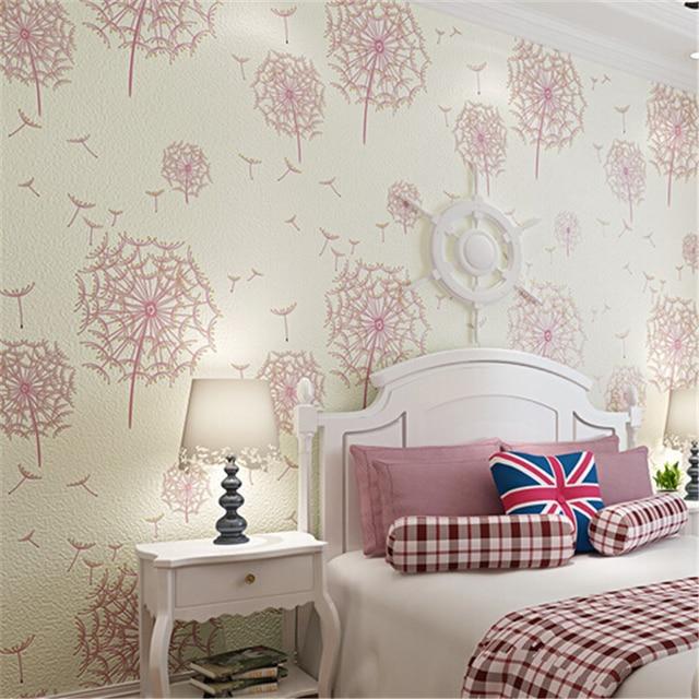 Beibehang End Non Woven Modern American Rustic 3d Flower Wallpaper Roll/ Tapete Papel De