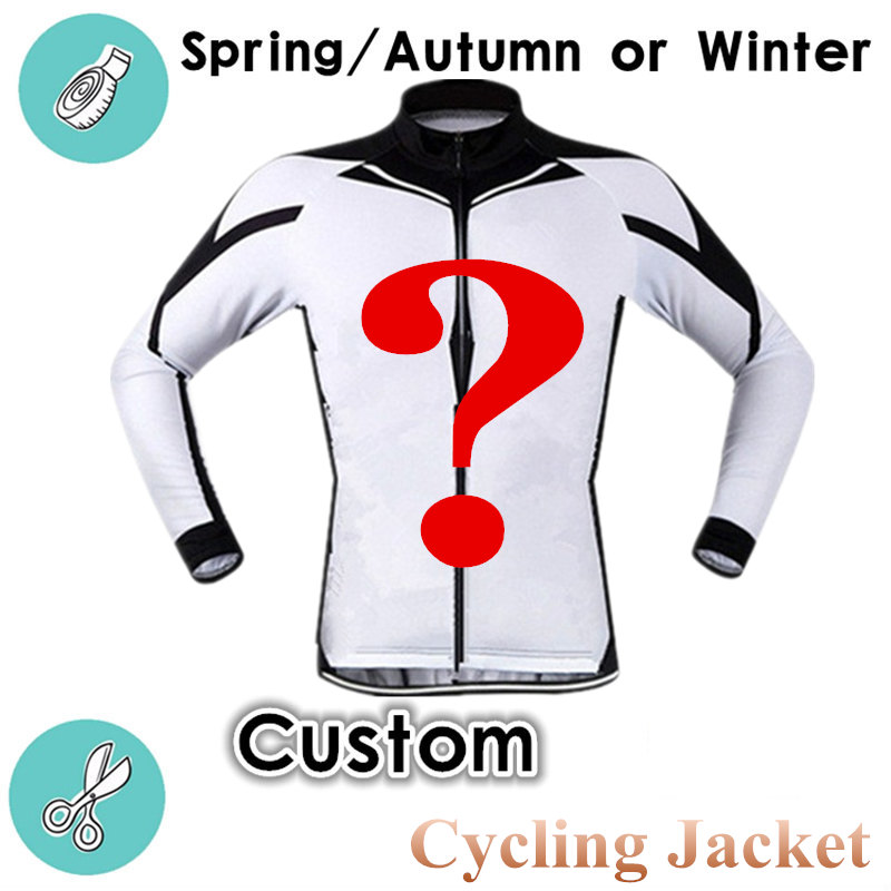 Cycling Jacket Personal Jersey Long-Sleeve Custom Windproof Autumn Winter Por