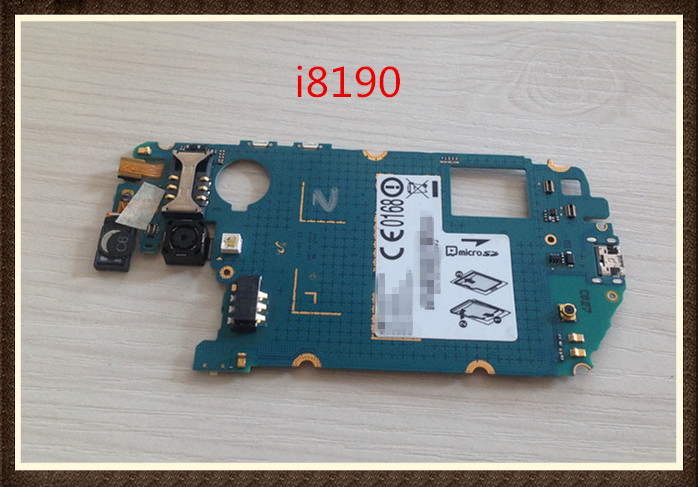 100%Working~Unlock Original Motherboard For Galaxy s3 mini i8190 mainboard Clean IMEI Free Shipping