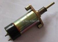 Yerine Caterpillar CAT yakıt kapatma solenoidi 125-5774 24V durdurma solenoidi valfi