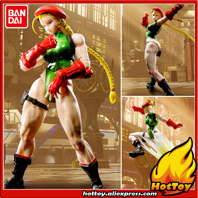 100% Original BANDAI Tamashii Nations S.H.Figuarts (SHF) Action Figure - Cammy from Street Fighter V