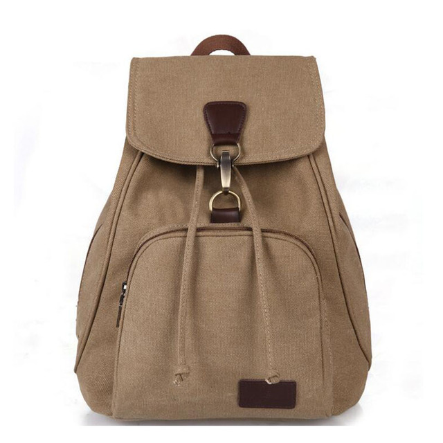 2016 новый дизайн старинные случайные женщины холст рюкзак шнурок мешок школьный для подростков девочек bagpack ранец ZZ291