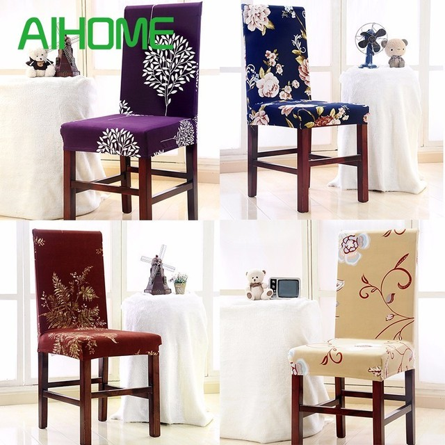 Polyester Spandex Dining Chair Covers for Wedding Party Chair Cover ...