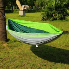 Super Saturday 2017  Discount 2017 Hot Portable Nylon Hammock With 330 Pounds Maximum CapacityWith 2 Hooks Stripes 3 Colors