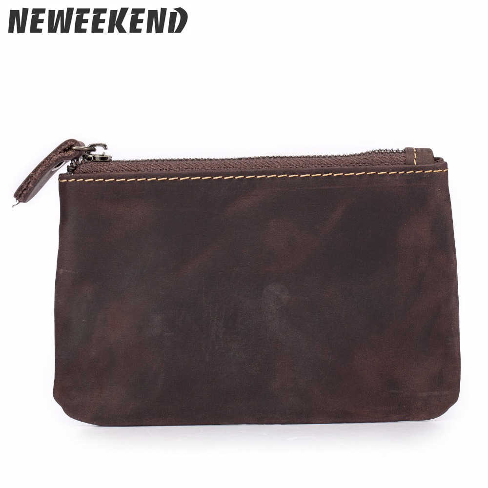 af55e88b259 Detail Feedback Questions about men's Unisex Leather Zip Pouch ID ...