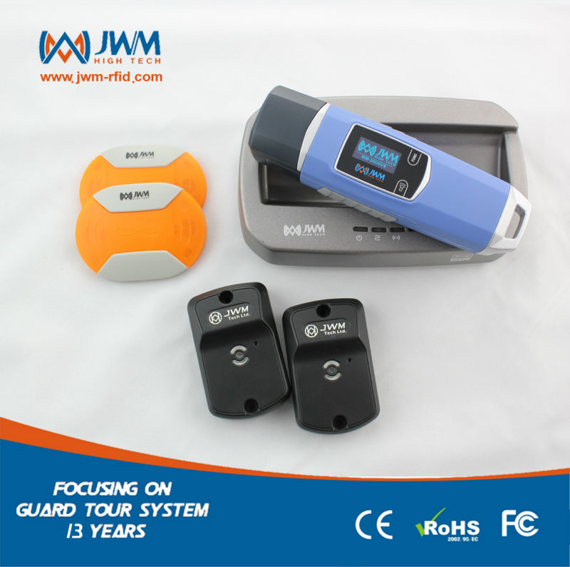 New Product RFID 2.4G guard tour system with free cloud softwareNew Product RFID 2.4G guard tour system with free cloud software