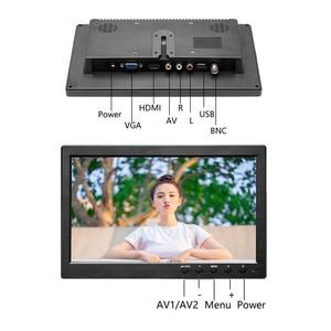 """Image 5 - 10.1 """"HD 1024*600 monitor LCD monitor samochodowy odtwarzacz MP5 monitor bezpieczeństwa w domu wyświetlacz PC/TV obsługa VGA/BNC/USB/HDMI/wejście av"""