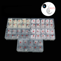 10 Boxes Capsule Ongle Transparent Fake Nails 5000pcs Faux Ongles False Nail French Tips Manicure for dropshipping Wholesale
