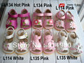 Clearance Price  Baby Girl Squeaky Sandals  Size 2   for 6-12 months different colors to choose