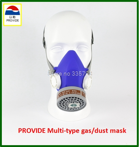 PROVIDE respirator mask respirator mask Silica gel Dustproof gas masks boxe industrial safety chemical gas mask high quality respirator gas mask provide silica gel gray protective mask paint pesticides industrial safety mask