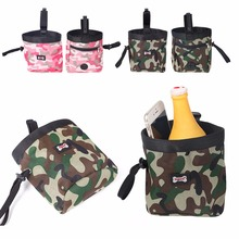 Camouflage Pet Dog Puppy Pouch Walking Food Treat Snack Bag Agility Bait Training Pockets Waist Storage Hold Outdoor Pet Product