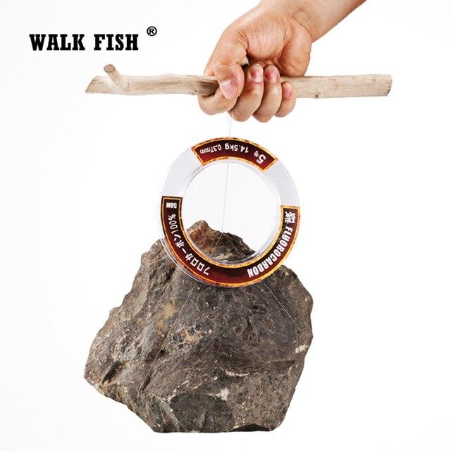 Best Fishing Line Walk Fish 100% True Fluorocarbon Fishing Lines cb5feb1b7314637725a2e7: 100 M 50 M