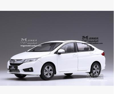 New HONDA CITY 2015 1:18 car model alloy metal diecast original gift collection kids toy Good workmanship Japan sport car brand new norev 1 18 scale germany audi a4 dtm 2011 14 9 racing car diecast metal model toy for gift kids collection
