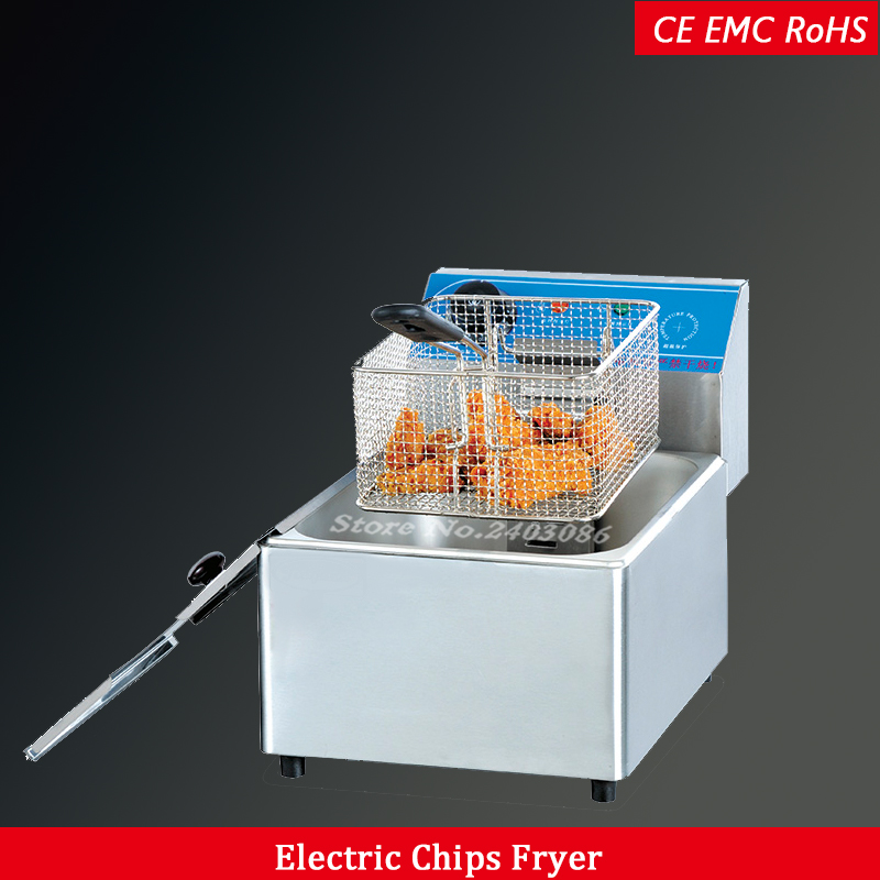 Commercial electric deep fryers 6LCommercial electric deep fryers 6L