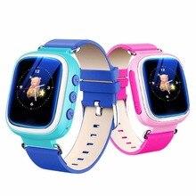 Продажа Многофункциональный T06S Детские умные часы LBS позиционирования Цвет Дисплей несколько языков с кнопкой SOS анти потерял часы