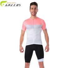 2016 new design male pink Cycling Jerseys Bicycle Racing team Clothing outdoor Sport Wear clothes Ropa Ciclismo sports