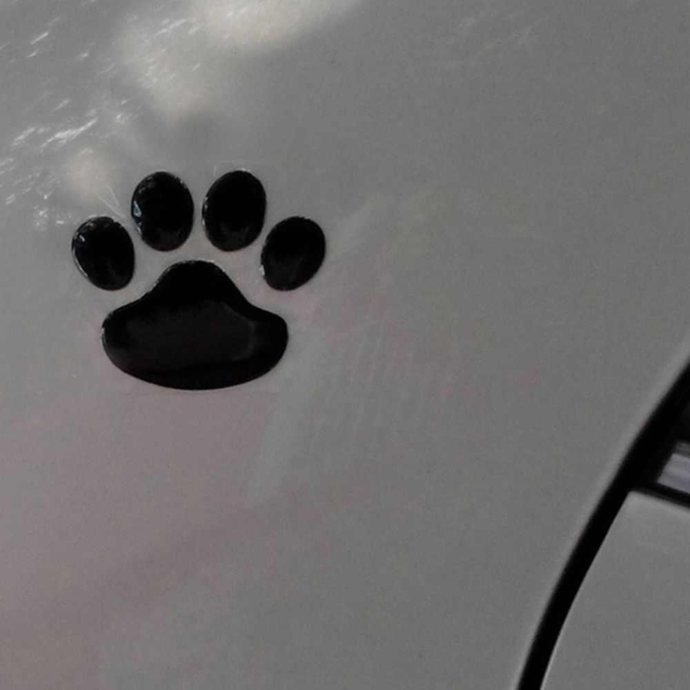 1 шт. автомобильный 3D стикер s мотоциклетный медведь ручной отпечаток ноги 3D наклейка s Наклейка кошачья и собачья лапка печать ног окно бампер наклейка на тело