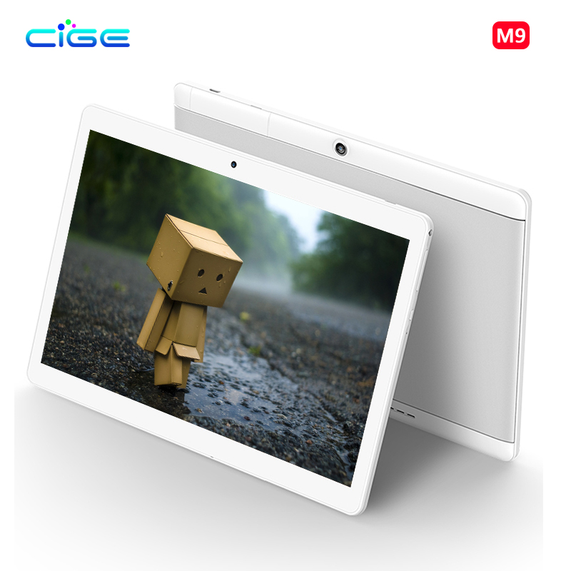CIGE 10 1 inch Tablet Pc 4G Lte Octa Core Phone Call card 1920x1200 Android 6