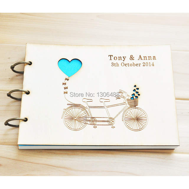 Online Shop Personalized Wedding Guest Book Love Rustic Wedding