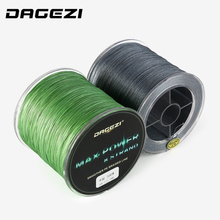 DAGEZI 500m 8 strand braid fishing line Rope Super Strong smoother 100% PE Braided Multifilament fishing lines with box