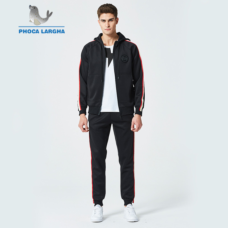 Men's Sport Sets New Spring Hoodie Sweatshirt Men Fashion Slim Hoodies Sweatshirts+Sweatpants Suits Casual Hooded Pullover Male
