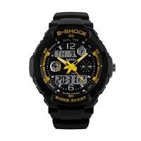 SKMEI Luxury Brand Sports Watches Shock Resistant Men LED Watch Military Digital Quartz Wristwatches Relogio Masculino