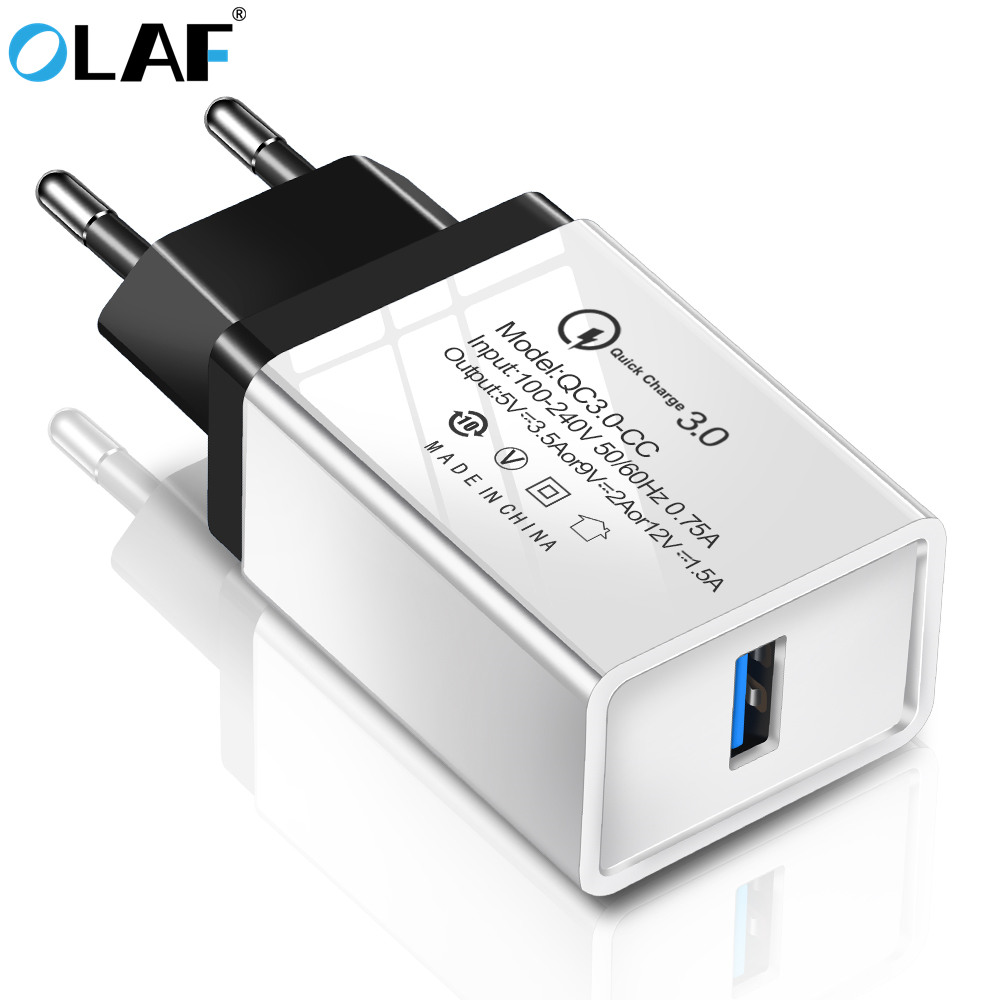 OLAF quick charge 3.0 fast usb QC 3.0 For Xiaomi redmi For Huawei mate 20