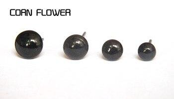 Hot sale 100pcs/set Black Glass Eyes 3-12mm Needle Felting Teddy Bears Dolls Animals Black Eyes Dolls Accessories