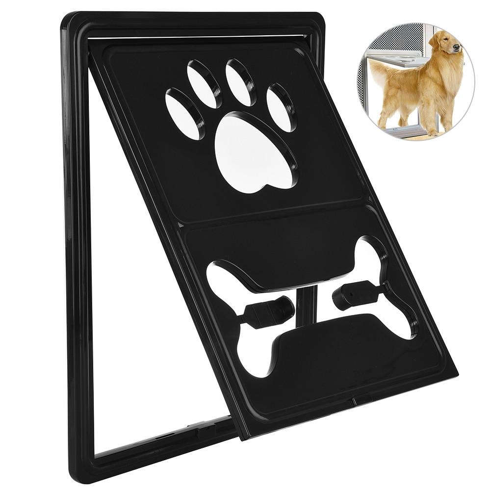 Petacc Multi Functional Pet Screen Door Rotary Dog Gate Way