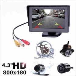 4.3 Cal Monitor TFT z kamery cofania