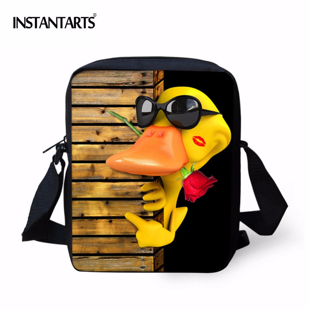 INSTANTARTS Children Cartoon Animal School Bags for Girls Small Boys Schoolbag Students Shoulder Book Bag Kids Mochila Infantil