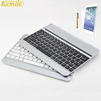 Kemile Aluminium Wireless Bluetooth 3 0 Metal Keyboard For Apple IPad 2 3 4 Protector Screen