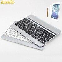 Kemile Aluminium Wireless Bluetooth 3 0 Metal Keyboard For Apple IPad 2 3 4 Protector Screen