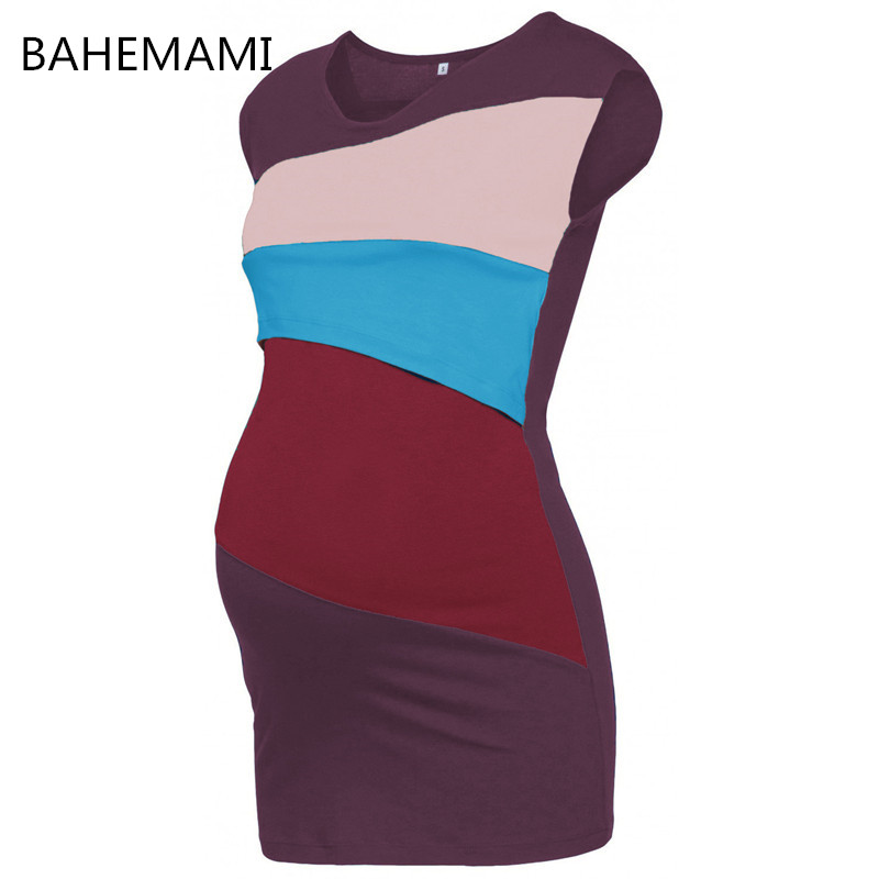 BAHEMAMI Pregnancy Maternity Nursing Breastfeeding Vest Striped TankTops Blouse Shirt for Pregnant Women Maternity Breastfeeding