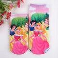 2017 Comercio Al Por Mayor 6 pares de alta calidad de algodón calcetines de dibujos animados calcetines de los niños niñas niño a precios de fábrica de la historieta TO07