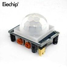 HC-SR501 Регулировка ИК-пироэлектрический инфракрасный PIR датчик движения модуль детектора для Arduino SR501 ИК-датчик для Raspberry Pi сенсор s