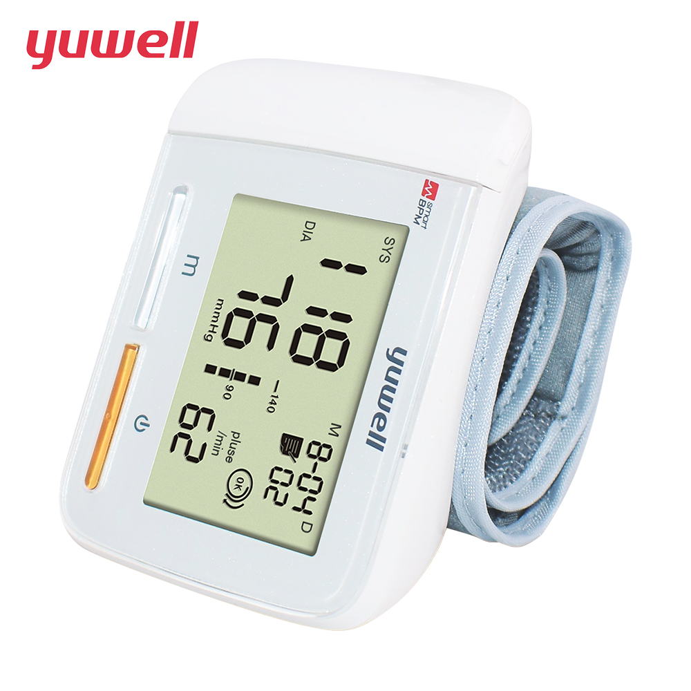 yuwell Wrist Blood Pressure Monitor Heart Rate Monitor Portable Ecg Monitor Health And Wellness Wrist Blood Pressure Meter 8900A