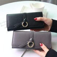 Long Women Wallets Luxury Famous Brands Designer Female Bag Ladies Cute Women s Purse Walet Leather