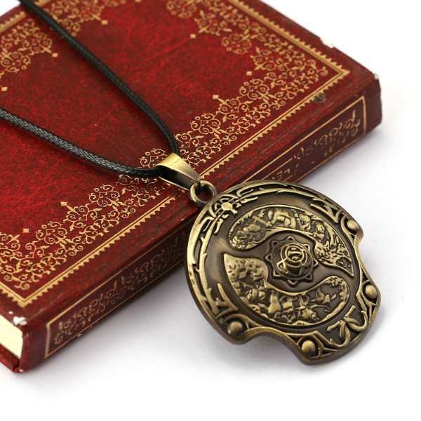 Dota 2 Enamel Necklace