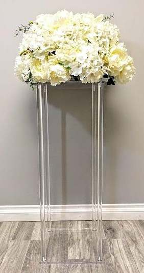 2019 Artificial Flower Fake Vase Crafts Decor Wedding Table Centerpiece Fl Stand Columns For Party