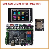 MKS GEN L mainboard MKS WIFI module MKS TFT35 lcd TFT 35 display controller suite cheap 3D printer control unit diy starter kit