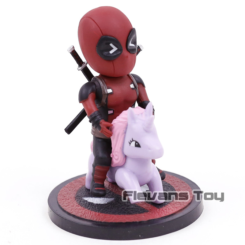 Marvel Comics Deadpool Mini Egg Attack Series MEA-001 003 006 PVC Action Figure Collectible Model Toy Doll image