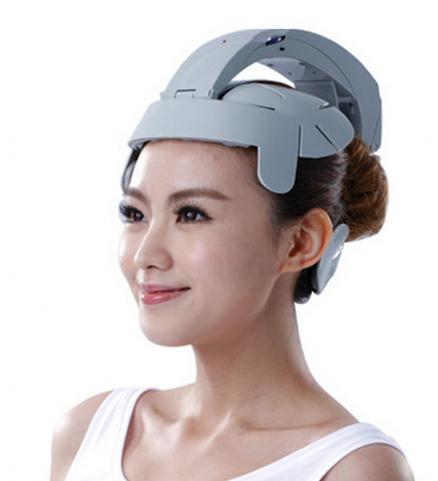 Electric head massage device multifunctional vibration massage machine acupuncture points scalp head massager vibrating head massager music electric head and scalp massager brain massage improves sleep body vibration machine massage