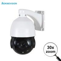 Onvif HD H.265 H.264 1080P 2MP 60m IR nightvision Mini CCTV security IP PTZ camera speed dome 30X zoom network ptz ip camera