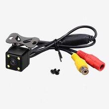 Новый Горячий Высокое качество камеры Автомобиля Универсальный внешний ccd HD с 4LED ночного видения камеры заднего вида навигации автомобиля укладки