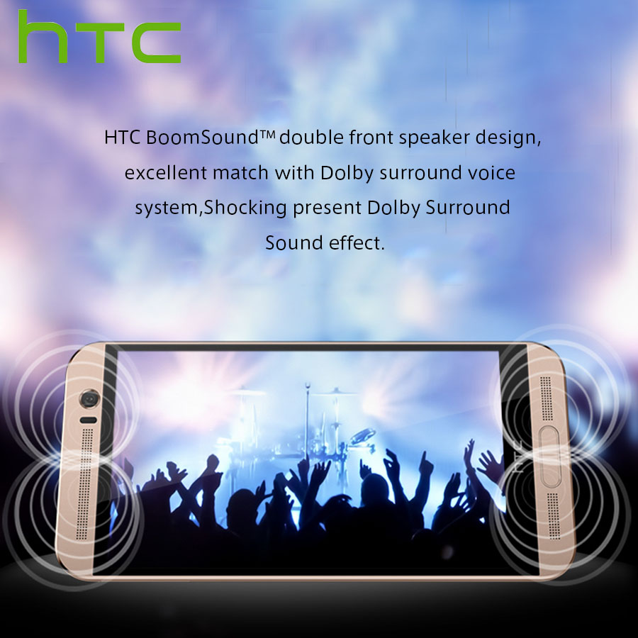 "Image 5 - Spain Delivery NEW HTC One ME M9ew Dual SIM 4G LTE Mobile Phone 5.2"" OctaCore 3GB RAM 32GB ROM 2560x1440P 20MP Android Callphone-in Cellphones from Cellphones & Telecommunications"