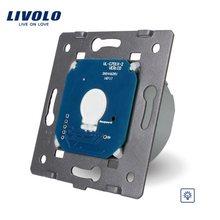 Livolo EU Standard Dimmer Schalter Ohne Glas Panel, AC 220 ~ 250V, wand Licht Touch Dimmer Schalter, VL-C701D für LED Licht